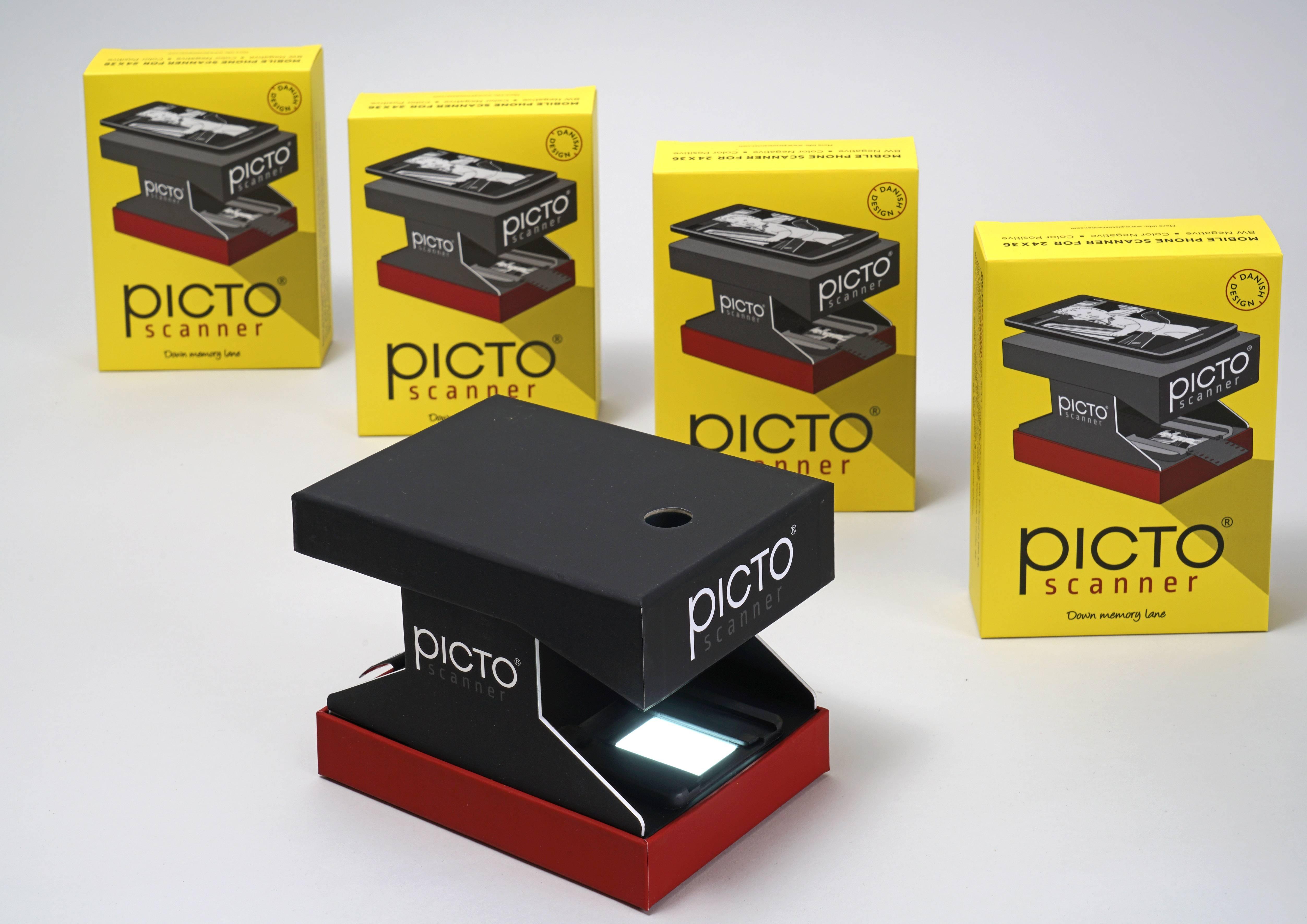 Banner med produktbillede af PictoScanner