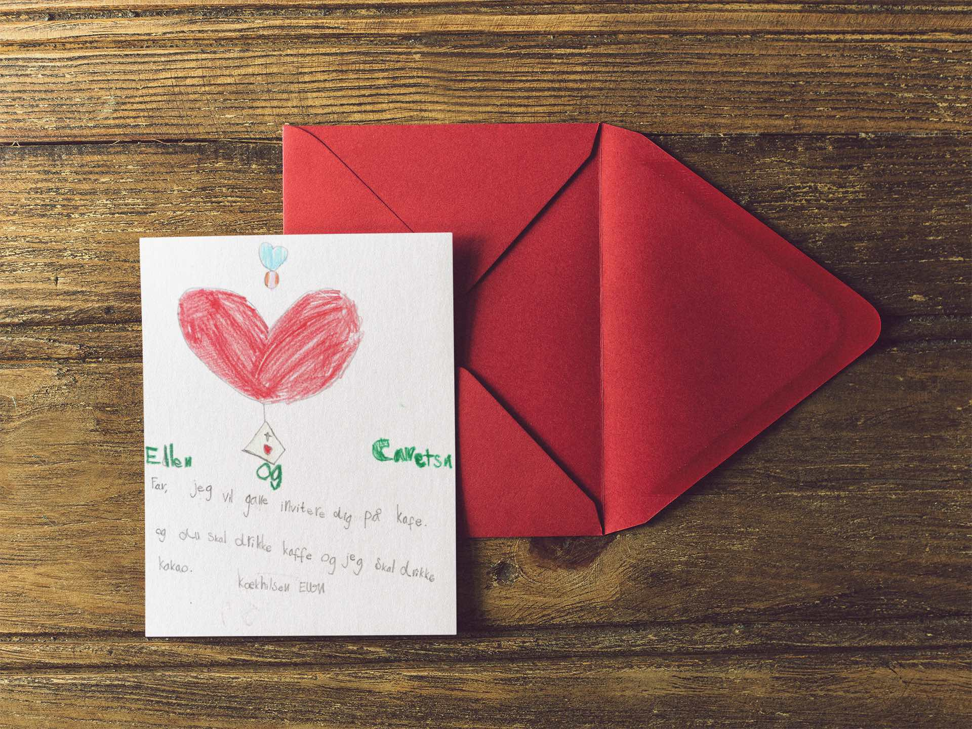 Invitationer med hjerte