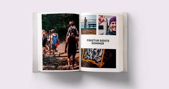 Lav en fotobog med dine yndlingsbilleder med familien.